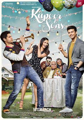 Kapoor & Sons 2016 Watch hindi movie (Trailler)Online