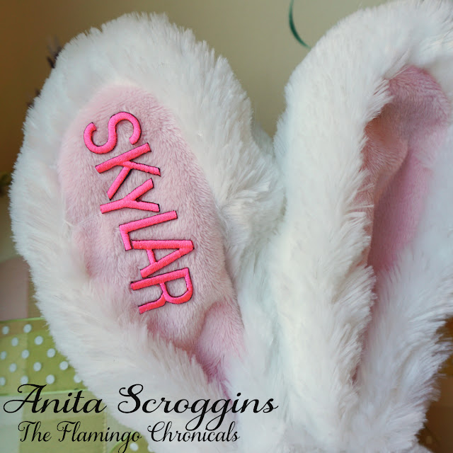 child's name easter bunny