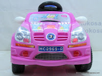 2 Mobil Mainan Aki Junior JB18 Dynamic