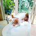 See photos of Yemi Alade Nudes as she shares her latest photos bathing in a tub