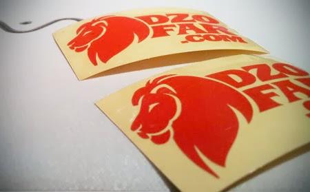 stiker singa