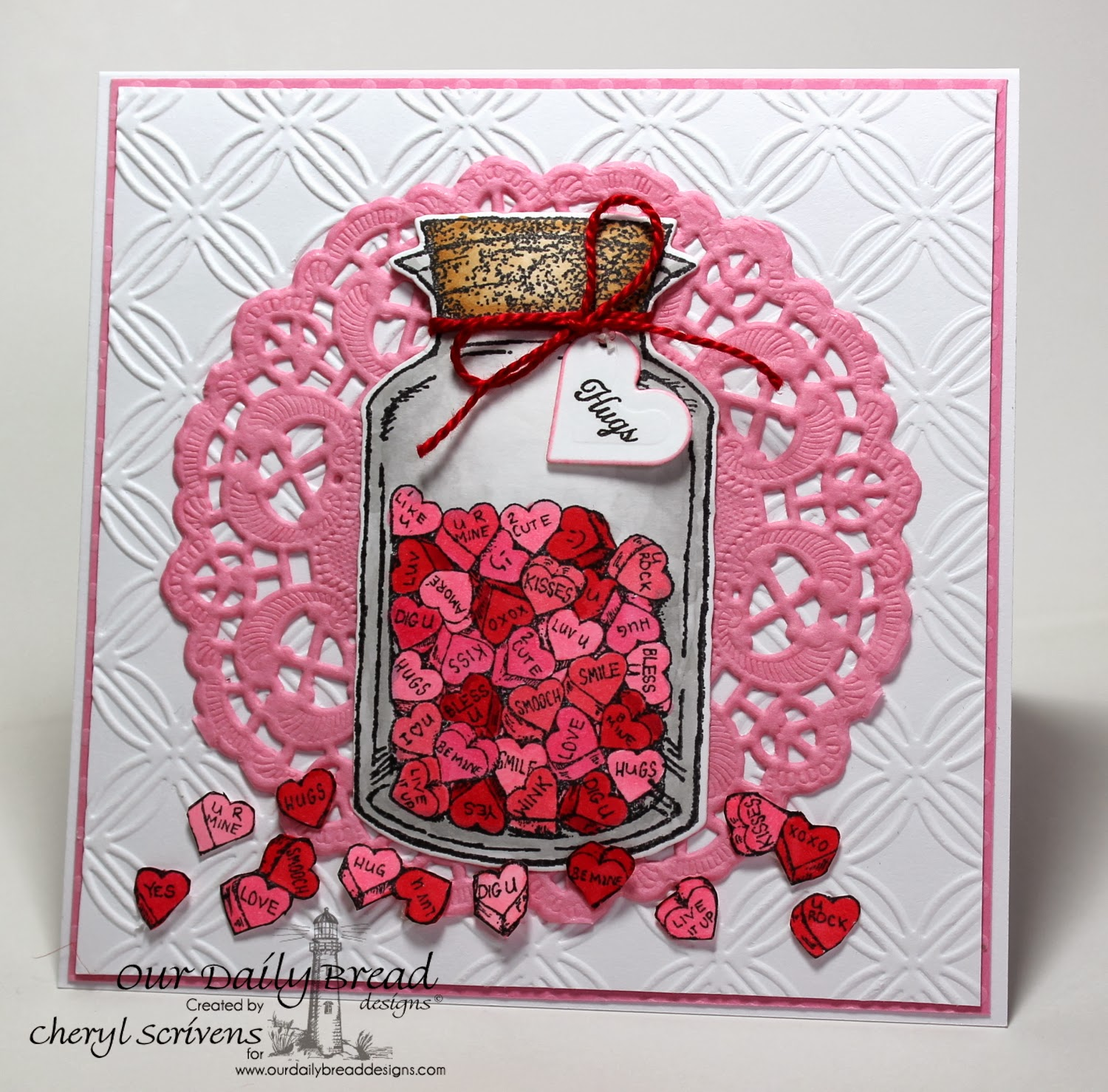 Our Daily Bread Designs, Apothecary Bottles, Canning Jar Fillers, Ornate Borders Sentiments, ODBD Custom Apothecary Bottles dies, CherylQuilts, Shining the Light Challenge, Designed by Cheryl Scrivens
