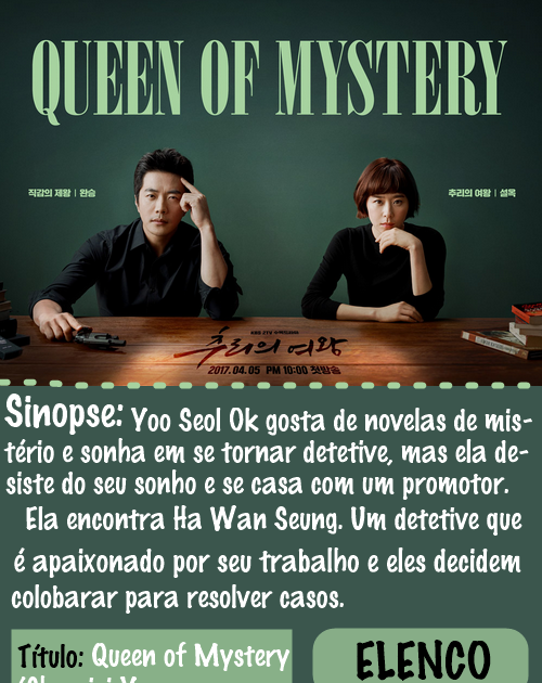 Queen of Mystery/ 추리의 여왕 (2017)