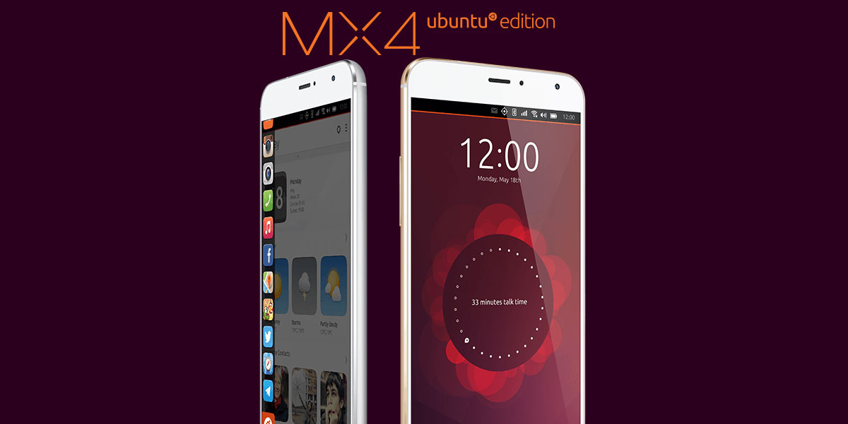 Meizu MX4 with Ubuntu Touch by UBports