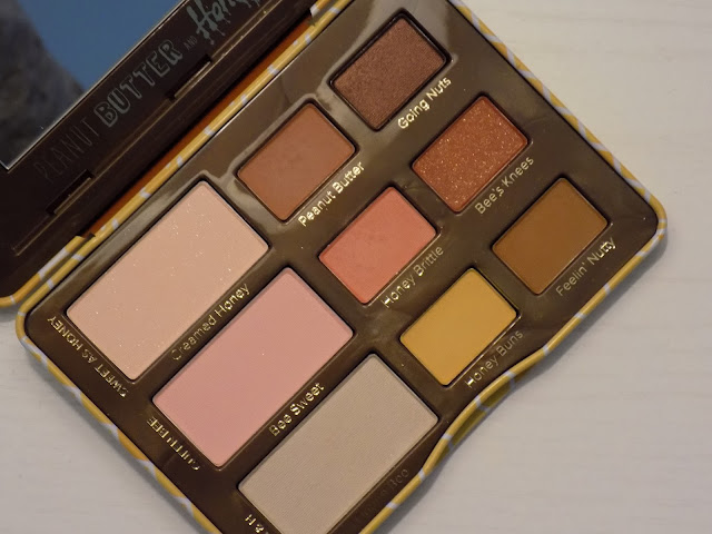 too faced-peanut butter and honey-eyeshadow palette