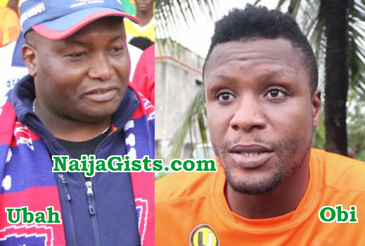 ifeanyi ubah slapped mikel obi elder brother
