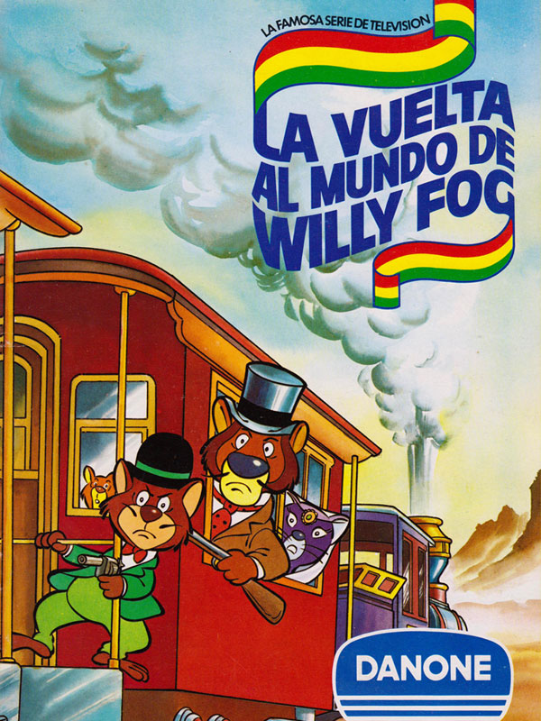 Album cromos Danone La vuelta al Mundo de Willy Fog
