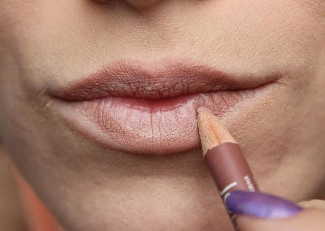 twenties make-up: step 13