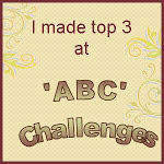 I made the Top Three at ABC