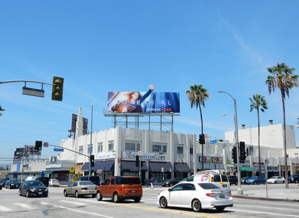 Supergirl series premiere billboard