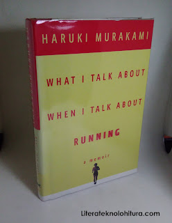 what i talk about when i talk about running front cover