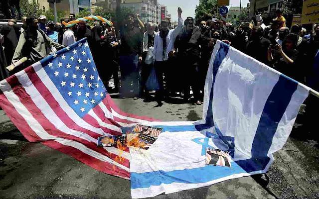 Iran Serukan Umat Islam Seluruh Dunia Melawan Amerika dan Israel