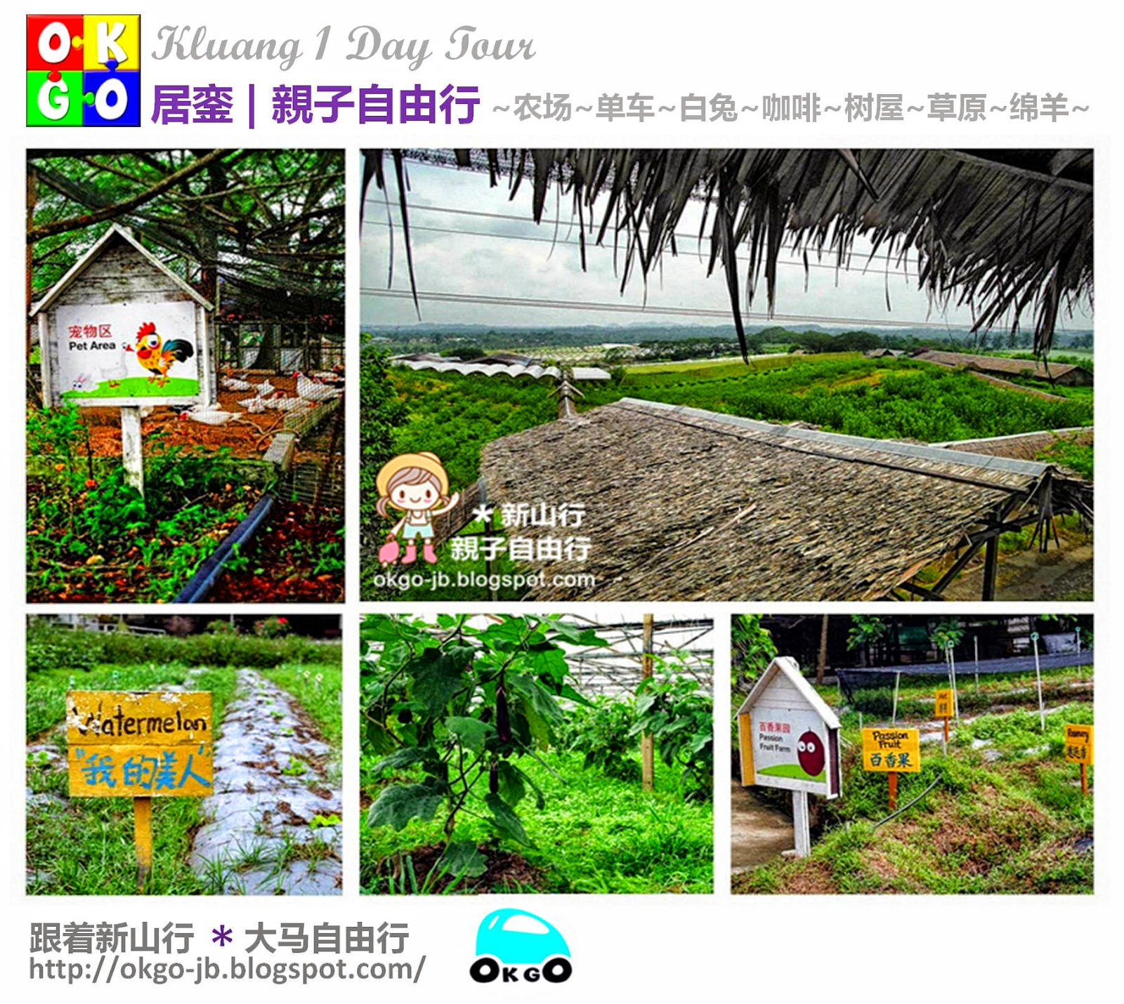 Kluang day tour Zenxin farm