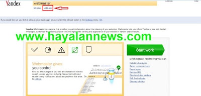 Cara baru mendaftar mesin pencari yandex guna meningkatkan visitor blog