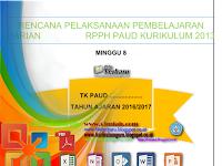 Download RPPH Kurikulum 2013 Minggu 8 Gratis