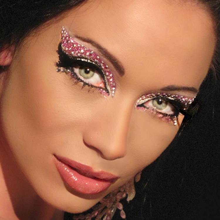 glitter makeup womanly interests. Black Bedroom Furniture Sets. Home Design Ideas