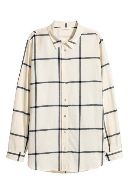 camicia di flanella di cotone per donna