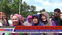 VIDEO: Merasa Tak Diperhatikan, Ibu-ibu Maki Wali Kota