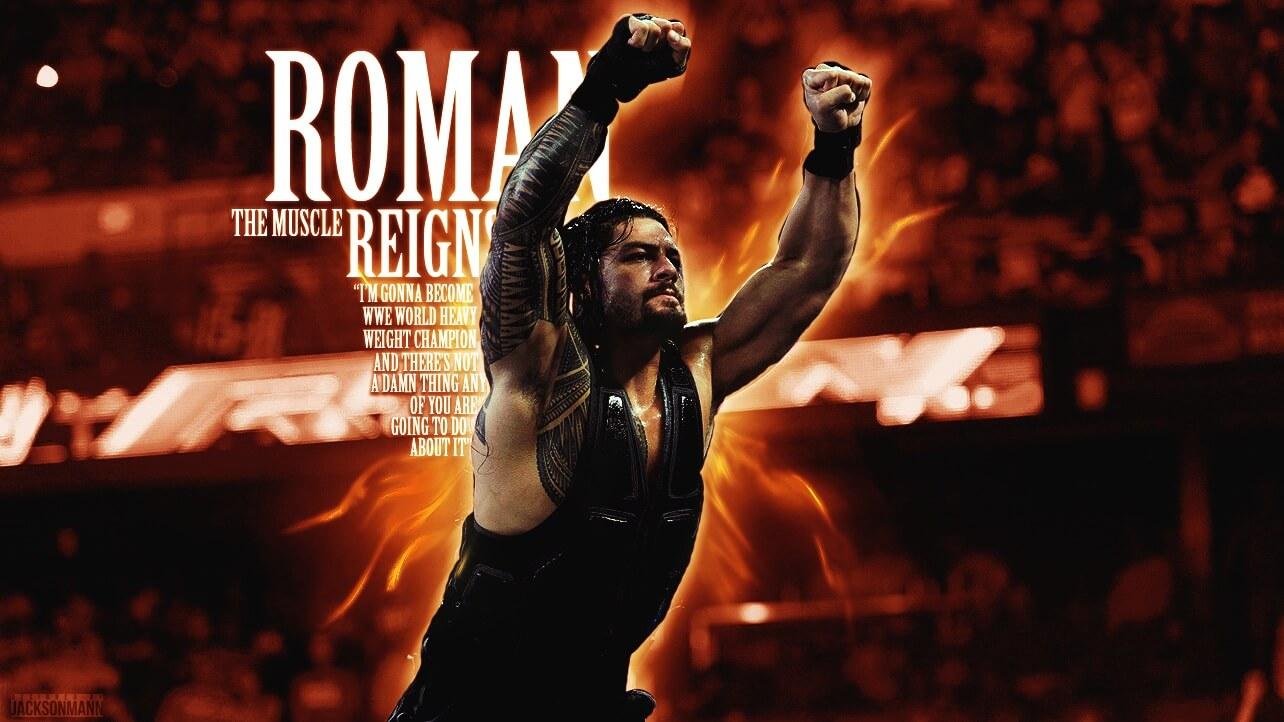 roman reigns weight