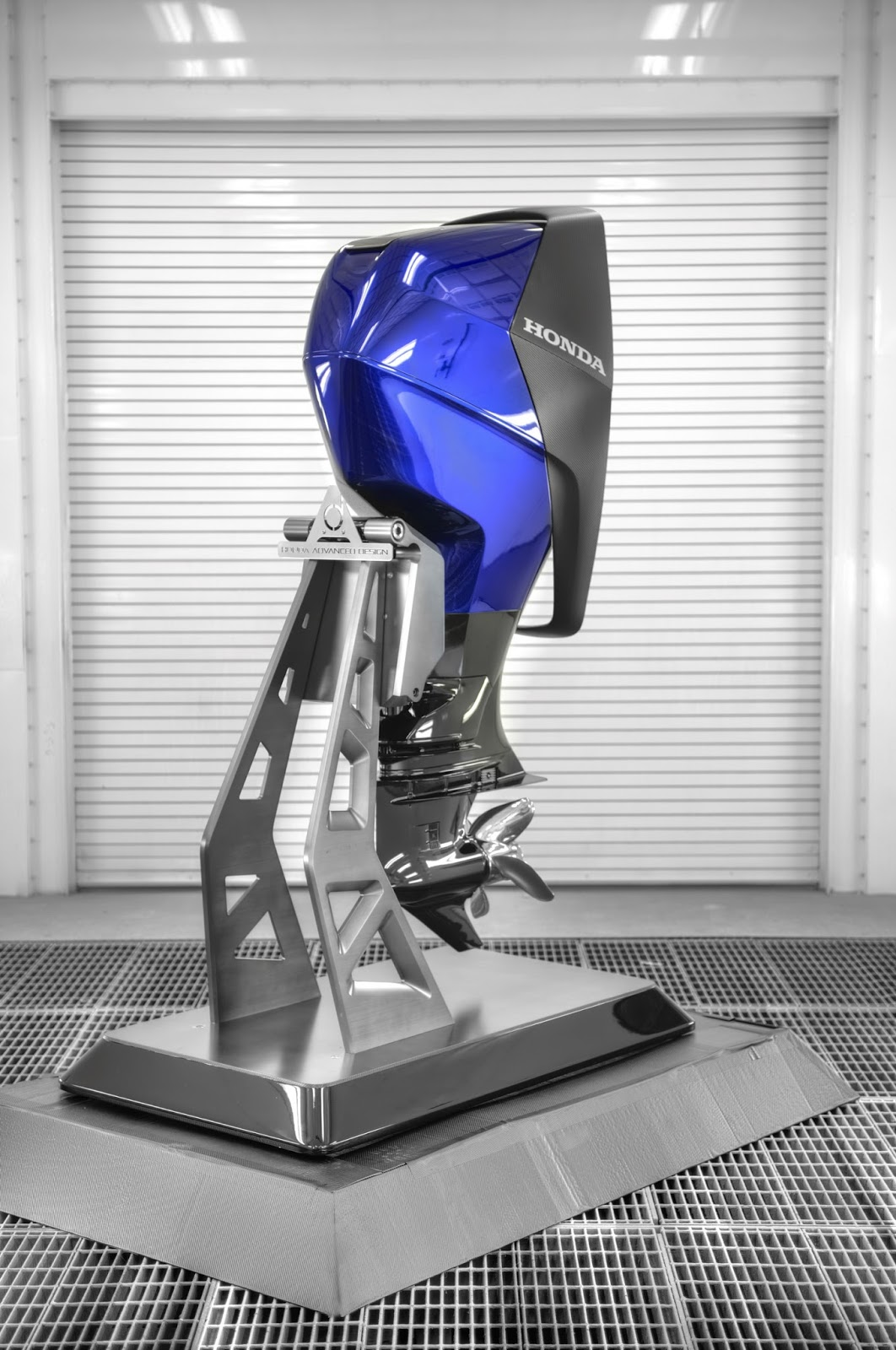 Honda Created An NSX-Inspired Outboard Marine Engine
