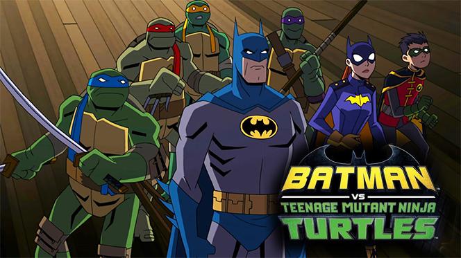Batman vs. las Tortugas Ninja (2019) Web-DL 1080p Latino-Ingles