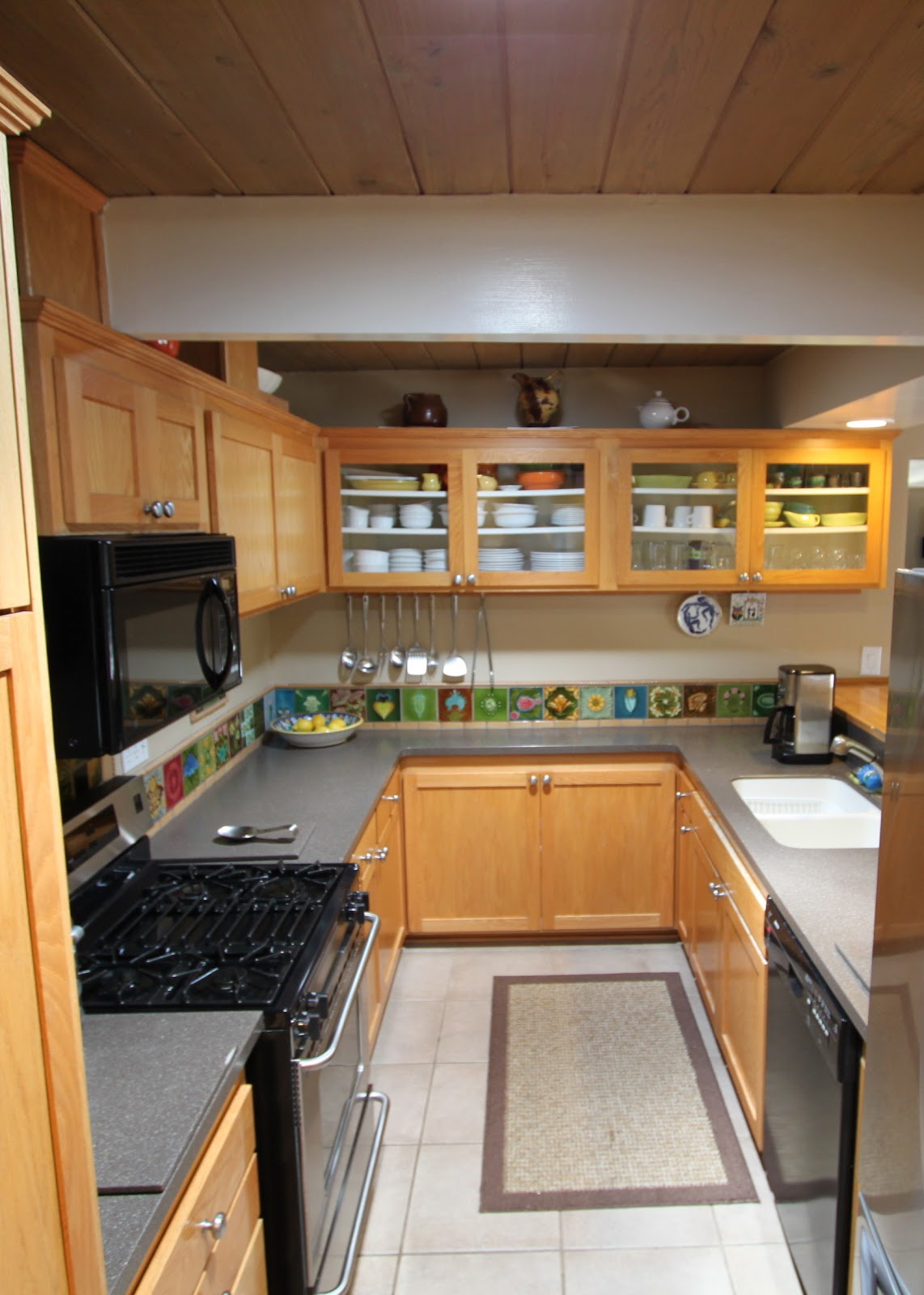 Mid Century Modern Kitchen Remodeled In The Early 2000 S