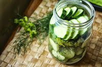 Quick Refrigerator Pickles