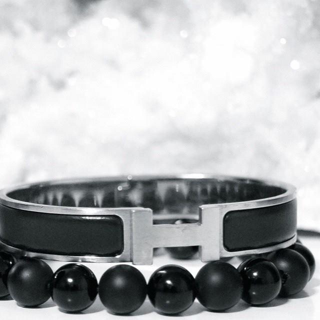 Hermes Clic H or Collier de Chien for Men    BOYBEADS- Custom Beaded  Bracelets for Men New York, NY 9984a9c6c61