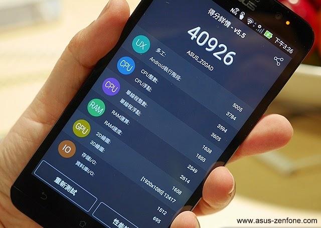 ASUS Zenfone 2 ZE550ML Antutu Benchmark Asus Zenfone
