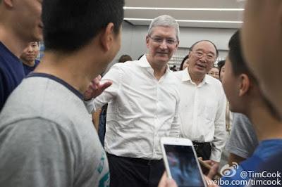 蘋果總裁庫克訪華