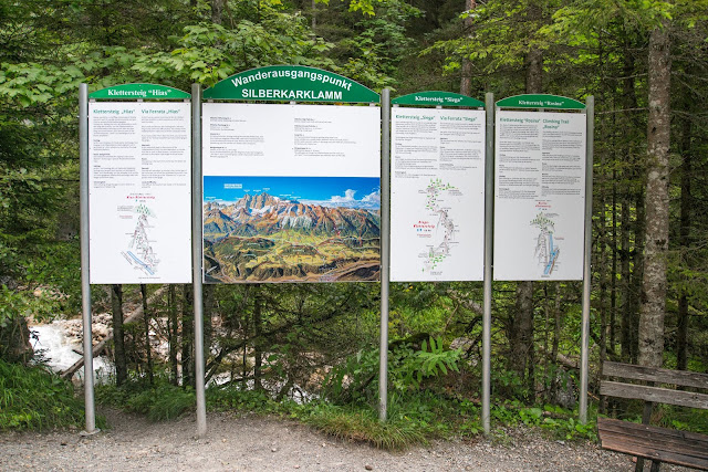 Silberkarklamm Rundweg Wilde Wasser und Klettersteige  Ramsau am Dachstein   Hias-Klettersteig  Siega-Klettersteig 03
