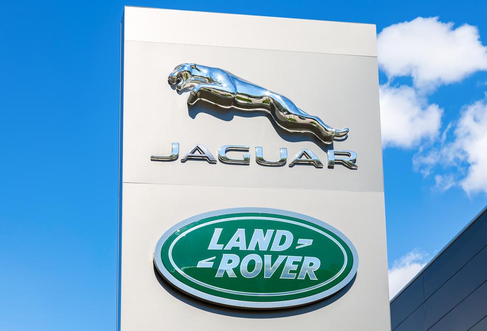 Jaguar Land Rover Signage Outside