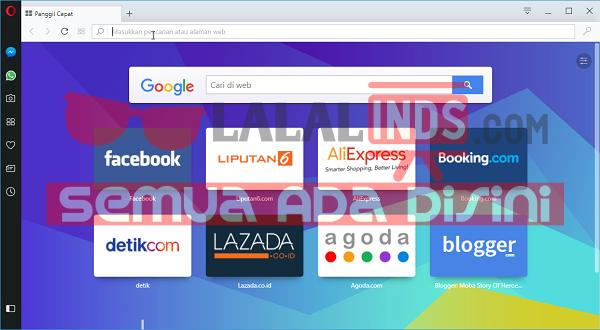 Download Opera 50.0 Build 2762.67 Terbaru Offline Installer