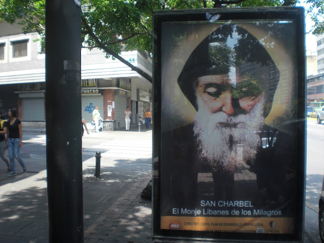Valla de San Charbel en municipio Chacao Caracas