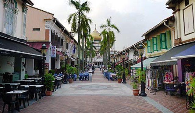 Tempat Wisata Terbaik di Singapura - Jalan Arab