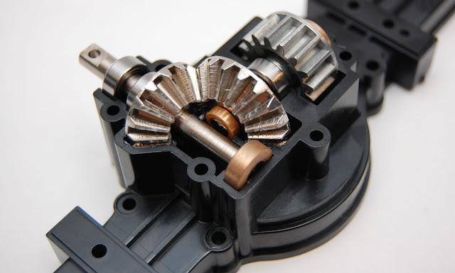 Tamiya TXT-1 diff gears