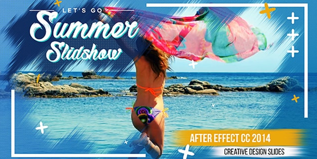 Projects - VideoHive - Summer Slideshow