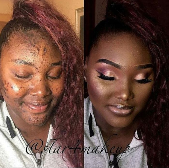 guys what do you have to say about this makeup transformation