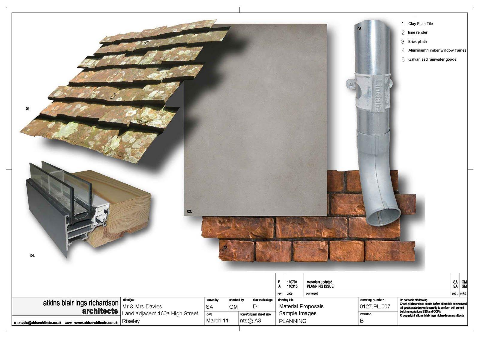 Riseley Eco Cottage Construction Materials