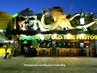 3D Miniature Golf in Wildwood New Jersey