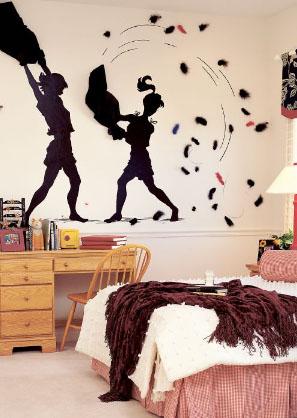 Dormitorios juveniles y modernos kitchen design luxury homes - Decoracion de paredes de dormitorios juveniles ...