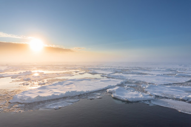 The Arctic is facing a decline in sea ice that might equal the negative record of 2012