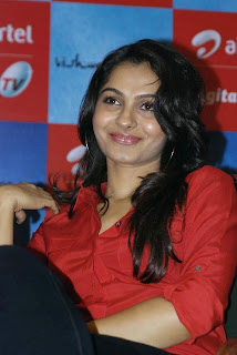 andrea jeremiah Pictures at airtel dth launch5