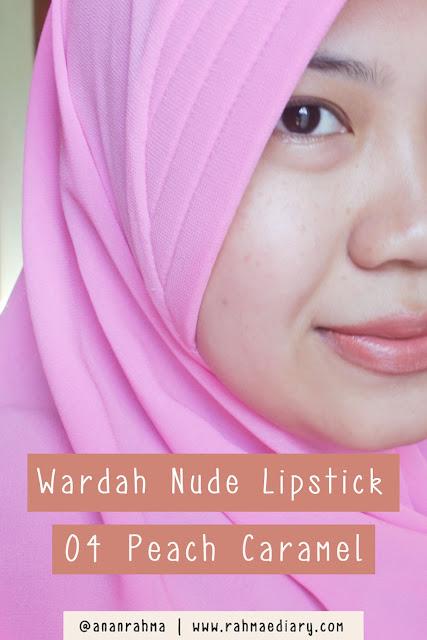 Wardah Nude Lipstick 04