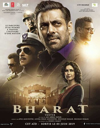 Bharat (2019) Hindi 1080p HDRip x264 2.4GB ESubs Movie Download