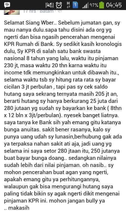 memilih KPR