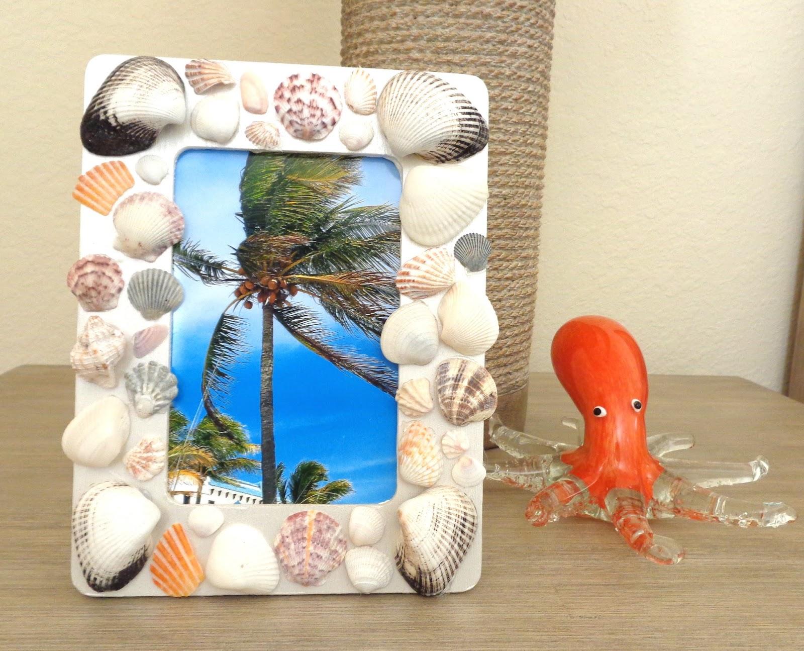 Diy Seashell Frame Kpapreps
