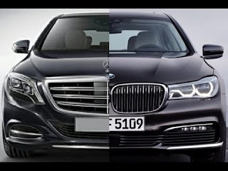 2016 BMW 7 vs Mercedes S