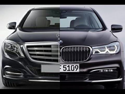 2016 BMW 7 series vs Mercedes S-class - which is better?