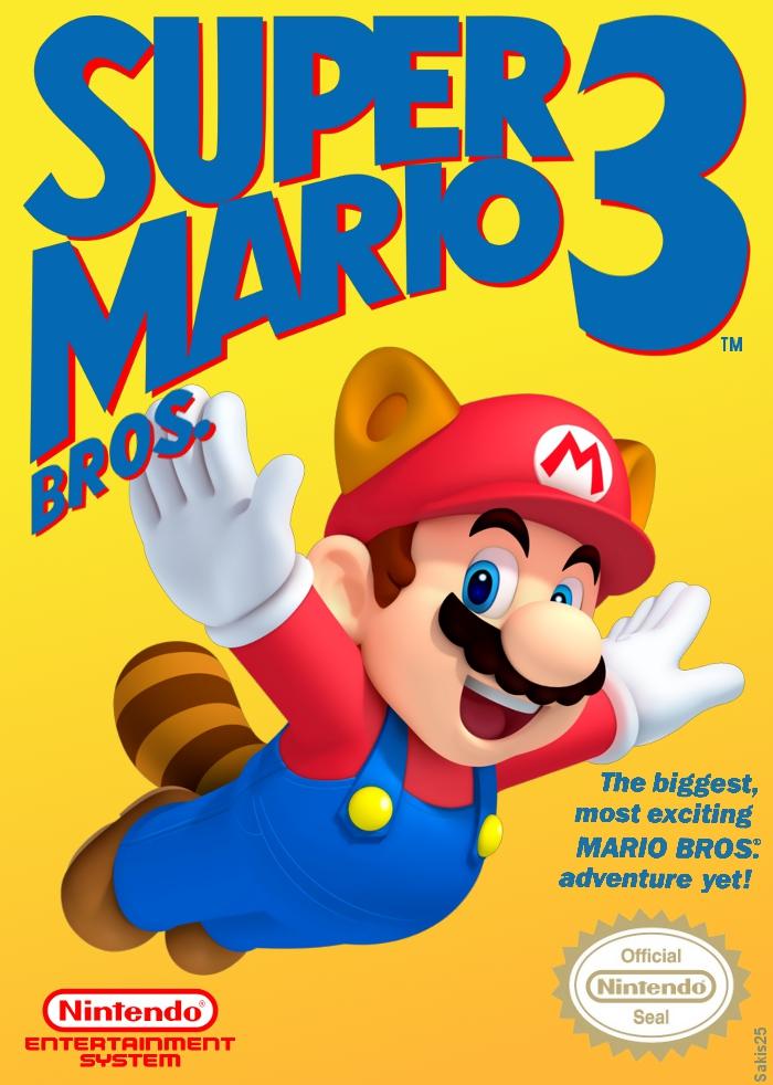 Sakis25 Games Super Mario Bros 3 New Box Art-3087